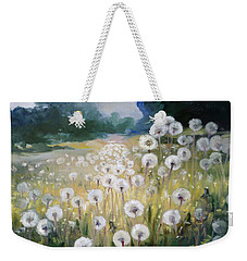 Lanscape With Blow-balls Weekender Tote Bag by Irek Szelag