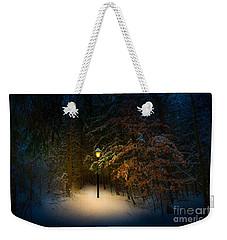 Lantern In The Wood Weekender Tote Bag