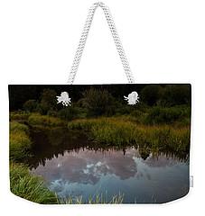 Laramie River Sunset Weekender Tote Bag
