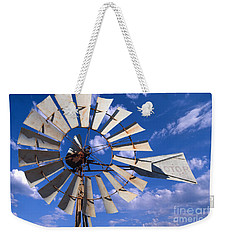 Large Windmill Weekender Tote Bag