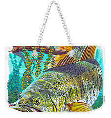 Largemouth Bass Weekender Tote Bag by Carey Chen