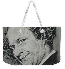 Larry Fine Of The Three Stooges - Where's Your Dignity? Weekender Tote Bag