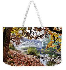 Larwood Covered Bridge Weekender Tote Bag