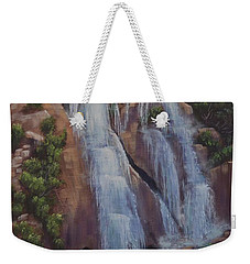 Las Brisas Falls Huatuco Mexico Weekender Tote Bag