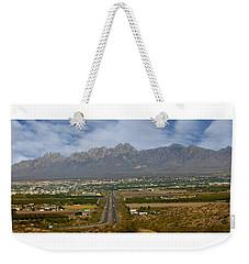 Las Cruces New Mexico Panorama Weekender Tote Bag by Jack Pumphrey