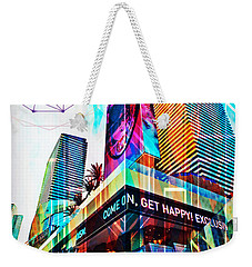 Las Vegas Apex And Abyss Weekender Tote Bag