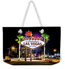 Las Vegas Sign Weekender Tote Bag