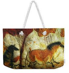 Lascaux II No. 6 - Horizontal Weekender Tote Bag