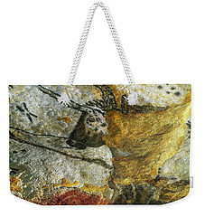 Lascaux II Number 3 - Vertical Weekender Tote Bag