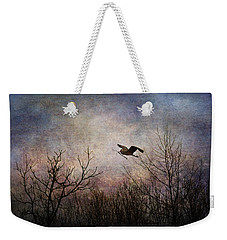 Last Delivery Of The Day Weekender Tote Bag