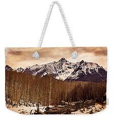 Last Dollar Road Winter Weekender Tote Bag