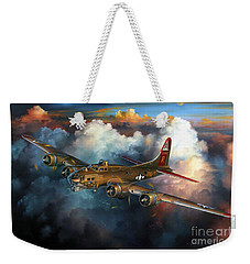 Last Flight For Nine-o-nine Weekender Tote Bag by Randy Green