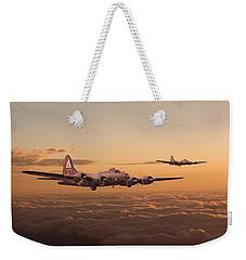 Last Home Weekender Tote Bag by Pat Speirs
