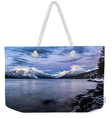 Weekender Tote Bag featuring the photograph Last Light by Aaron Aldrich