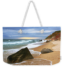 Last Light Before The Storm Weekender Tote Bag by Roupen  Baker