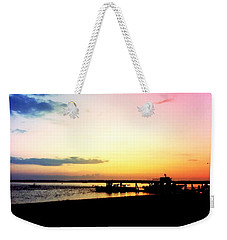 Last Light Weekender Tote Bag by Denyse Duhaime