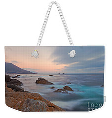 Weekender Tote Bag featuring the photograph Last Light by Jonathan Nguyen