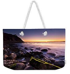 Last Ray Weekender Tote Bag by Mihai Andritoiu