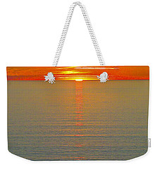 Last Rays Weekender Tote Bag by Jocelyn Kahawai