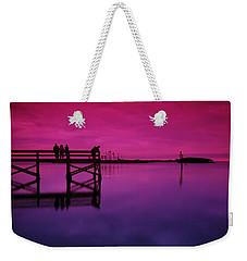 Last Sunset Weekender Tote Bag