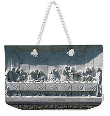 Weekender Tote Bag featuring the photograph Last Supper by Greg Patzer