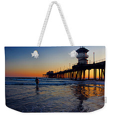 Last Wave Weekender Tote Bag by Tammy Espino
