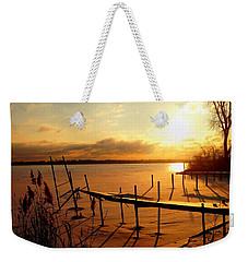 Last Winter ? Weekender Tote Bag by Daniel Thompson