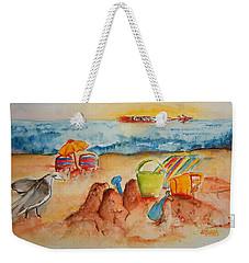Late Afternoon Beach Weekender Tote Bag