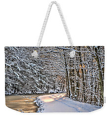 Late Afternoon In The Snow Weekender Tote Bag
