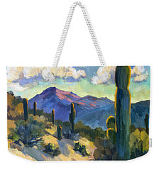 Late Afternoon Tucson Weekender Tote Bag by Diane McClary