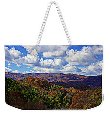 Late Autumn Beauty Weekender Tote Bag