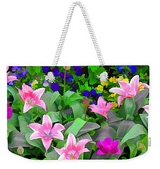Late Bloomer Weekender Tote Bag