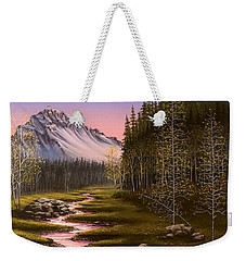 Late In The Day Weekender Tote Bag by Jack Malloch