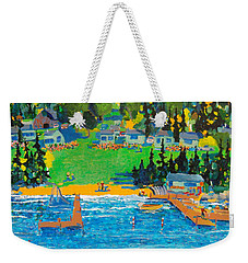 Late In The Season Weekender Tote Bag