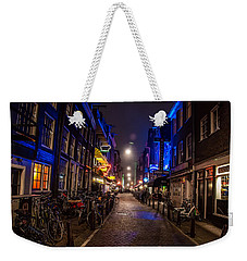 Late Nights Weekender Tote Bag
