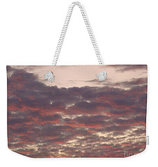 Late Summer Evening Sky Weekender Tote Bag