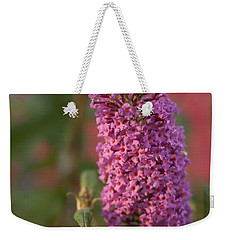Late Summer Wildflowers Weekender Tote Bag by Miguel Winterpacht