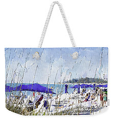 Late Winter Early Spring When Everybody Goes To Florida Weekender Tote Bag