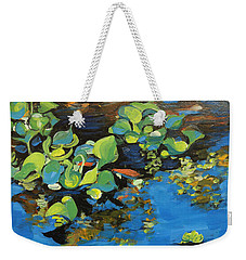 Laura's Pond I Weekender Tote Bag