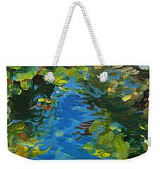 Laura's Pond II Weekender Tote Bag