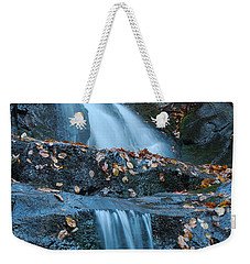 Weekender Tote Bag featuring the photograph Laurel Falls by Patrick Shupert