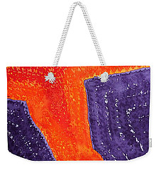 Lava Flow Original Painting Weekender Tote Bag