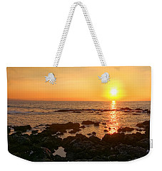 Lava Rock Beach Weekender Tote Bag