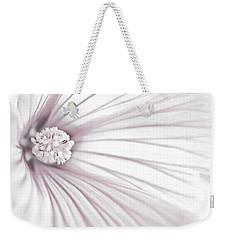 Lavatera Flower Stamen Macro  Weekender Tote Bag