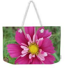 Lavender Cosmo Weekender Tote Bag