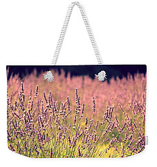 Weekender Tote Bag featuring the photograph Lavender Dreams by Lynn Sprowl