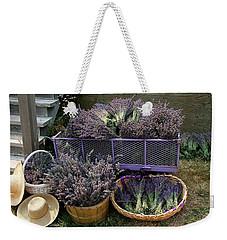 Lavender Harvest Weekender Tote Bag