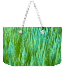 Lavender In Abstract Weekender Tote Bag by Jonathan Nguyen