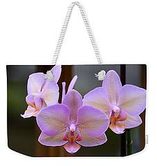 Lavender Orchid Weekender Tote Bag