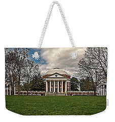 Lawn And Rotunda At University Of Virginia Weekender Tote Bag